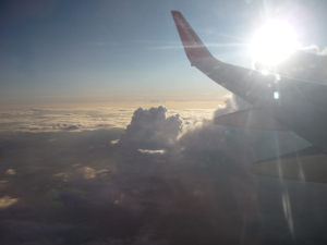 Clouds and sun, all a part of the journey. A beautiful journey.
